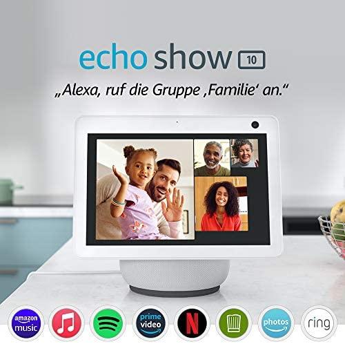 1624402940 Der neue Echo Show 10 3 Generation Hochaufloesendes Smart