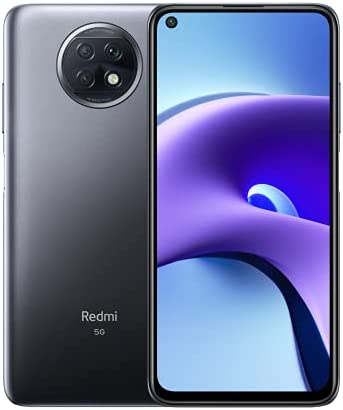 Xiaomi Redmi Note 9T - Smartphone 128GB, 4GB RAM, Dual SIM, Nightfall Black