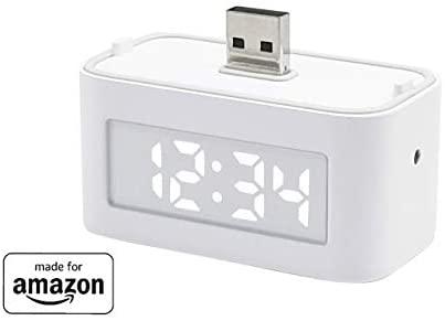 "Brandneue Smart Clock fuer Echo Flex ""Made for Amazon"