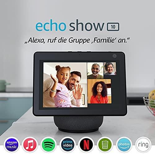 Der neue Echo Show 10 3 Generation Hochaufloesendes Smart