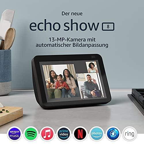 Der neue Echo Show 8 2 Generation 2021 HD Smart