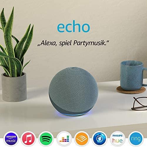 Echo 4 Generation Mit herausragendem Klang Smart Home Hub und