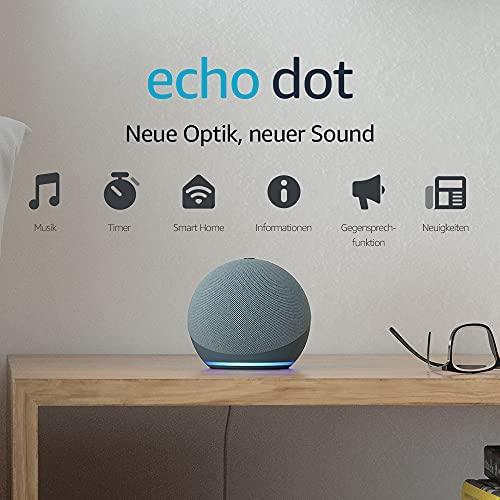 Echo Dot 4 Generation Smarter Lautsprecher mit