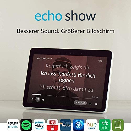 Echo Show 2 Gen Zertifiziert und generalueberholt Premiumlautsprecher mit brillantem