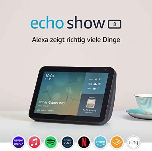 Echo Show 8 1 Gen 2019 – Smart Display mit