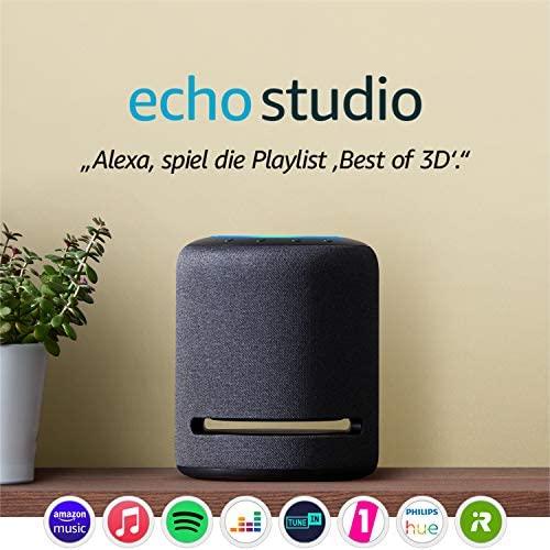 Echo Studio – Smarter High Fidelity Lautsprecher mit 3D Audio und