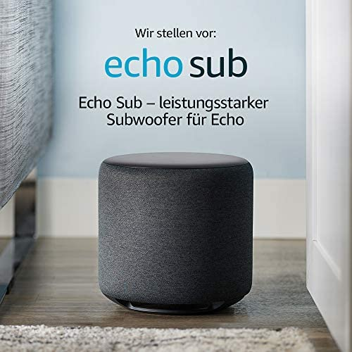 Echo Sub – leistungsstarker Subwoofer fuer Echo – erfordert ein