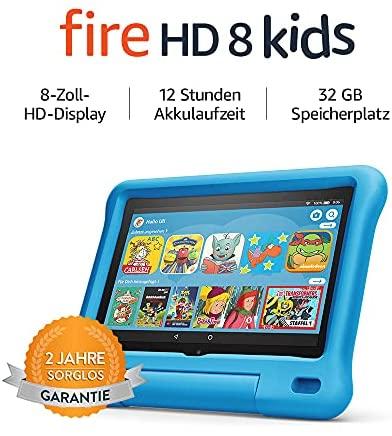 Fire HD 8 Kids Tablet Ab dem Vorschulalter 8 Zoll HD Display