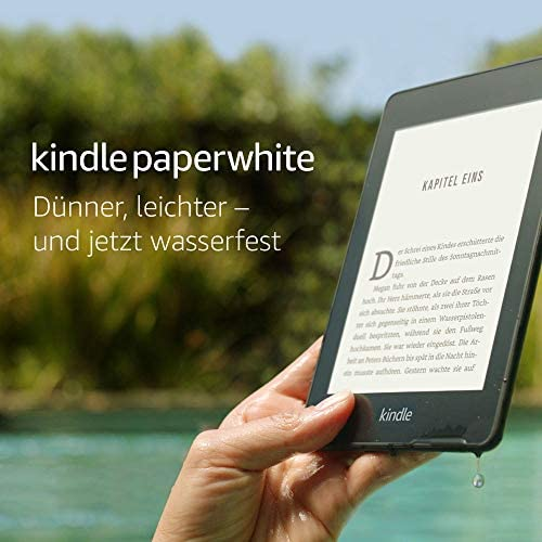 Kindle Paperwhite wasserfest 6 Zoll 15 cm grosses hochaufloesendes Display 8 GB –