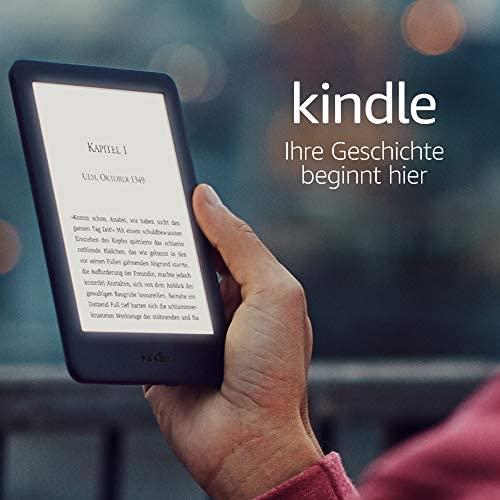 Kindle jetzt mit integriertem Frontlicht – Schwarz Kindle Unlimited