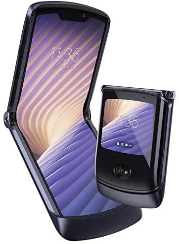 "Motorola razr 5G (6,2""-/2,7""-Display, 48-MP-Kamera, 8/256 GB, 2800 mAh, Dual-SIM, 5G, Android 10) Schwarz, inkl. Ear-Buds [Exklusiv bei Amazon]"