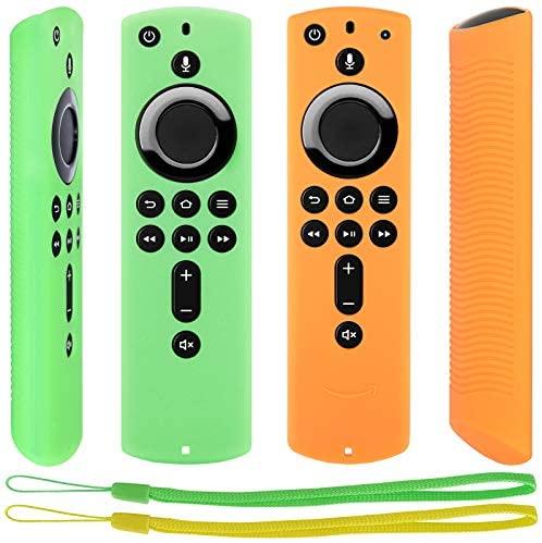 Pinowu Fernbedienung Schutzhuelle kompatibel mit Fire TV Stick 4K Alexa Sprachfernbedienung