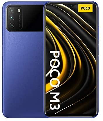 "Xiaomi M3 - Smartphone 4 + 128 GB, 6,53"""" FHD+ Dot-Drop-Display, Snapdragon 662, 48 MP AI Triple-Kamera, 6.000 mAh, Cool Blue (Offizielle Version + 2 Jahre Garantie)"""