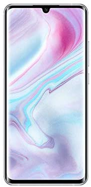 Xiaomi Mi Note 10 Pro 256GB Handy, weiß, Glacier White, Android 9.0 (Pie), Dual MZB8611EU