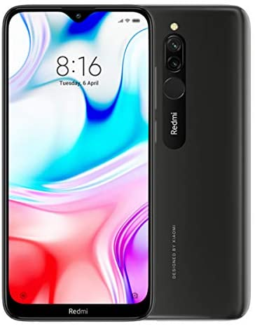 Xiaomi Redmi 8 4GB/64GB Dual SIM Black EU-Version