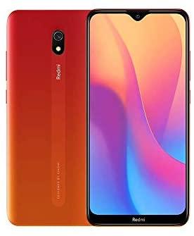 "Xiaomi Redmi 8A - Smartphone 4G (6,22""- 2 GB RAM - 32 GB ROM - Dual-SIM-Nano) Red - Französische Version - [Amazon Exclusive]"