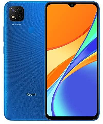 """Xiaomi Redmi 9C Smartphone 3GB 64GB 6.53"""" HD+ Dot Drop display 5000mAh (typ) AI Face Unlock 13 MP AI Triple Kamera Blau"""
