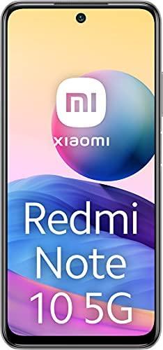 Xiaomi Redmi Note 10 5G - Smartphone 64GB, 4GB RAM, Dual SIM, Chrome Silver