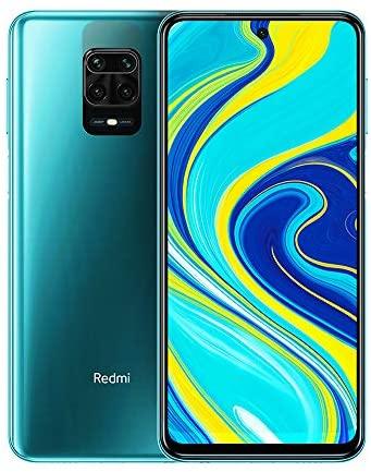 Xiaomi Redmi Note 9S Smartphone, 4 GB 64 GB, 6.67 Vollbilddisplay, Prozessor Snapdragon 720G Octa Core, 48 MP Quad Kamera, Aurora Blue
