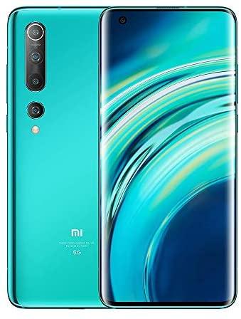 Xiaomi Mi 10 8GB+256GB Coral Green ohne Simlock, ohne Branding