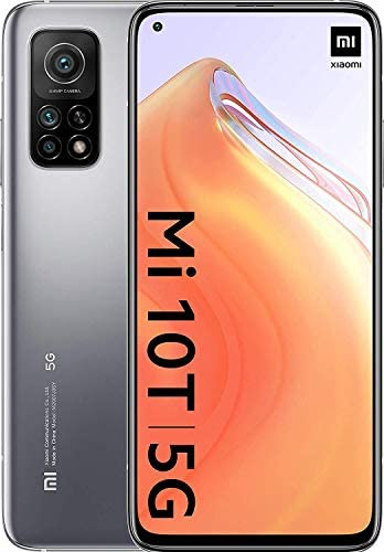 Xiaomi Mi 10T - Smartphone 128GB, 6GB RAM, Dual SIM, Lunar Silver