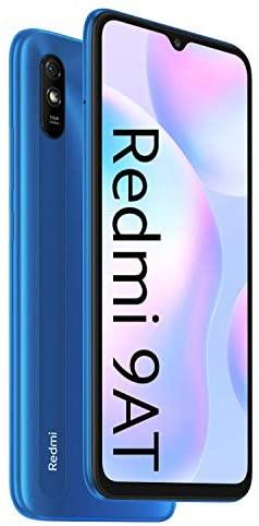 Xiaomi Redmi 9AT 2GB/32GB (UK Version + Offizielle 2 Jahre Garantie), Himmelblau