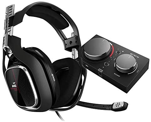 ASTRO Gaming A40 TR Gaming Headset + MixAmp Pro TR, 4e Gen, Astro Audio V2, Dolby Audio, Dolby ATMOS, Verwisselbare Mic, Game/Voice Balance Control, Xbox Series X|S, Xbox One, PC, Mac - Zwart/Rood