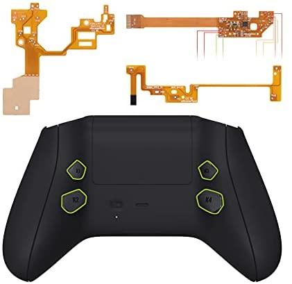 eXtremeRate Hope Programmierbares Remap Kit für Xbox Series X&S Controller, Upgrade-Boards,Rückseites Case,Seitenschienen,Knöpfe für Xbox Core-Controller Nicht enthalten(Schwarz)