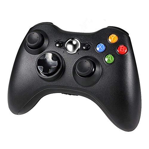 DDiswoee Xbox 360 Wireless Controller, Wireless Game Controller mit Verbessertes ergonomisches Design Joypad, Gamepad Wireless für PC/Xbox 360 (Windows XP/7/8/10)