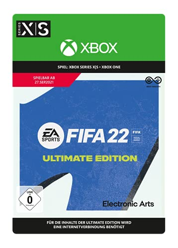 FIFA 22 Ultimate   Xbox One und Series X S - Download Code