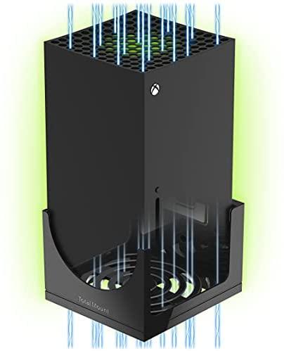 TotalMount Wandhalterung für Xbox Series X mit Wasserwaage und Hitze Management Konsolen Halterung für Wandmontage, 0423