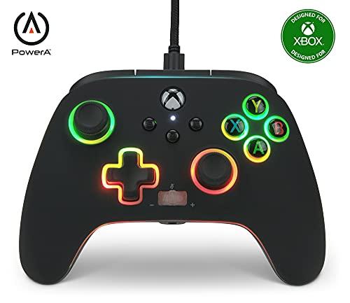 Verbesserter Kabelgebundener PowerA-Controller für Xbox Series X S – Spectra Infinity
